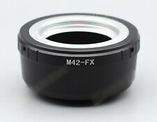 Zonzei M42-FX Adapter for M42 42mm Mount lens to Fujifilm X-mount FX Camera
