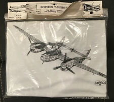 youth Vintage New Sophos T-shirt L fifty/fifty dead stock in package 1990