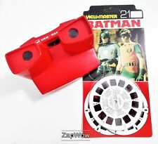 BATMAN VIEWMASTER 1978 Vintage Story Reels x3 Set BB492-123E DC Comics 1970s