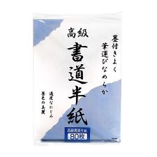 NEW Japanese Caligraphy Rice Paper Hanshi 80 Sheets Set F/S Japan Import