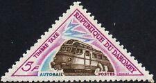 EBS Dahomey 1967 - Postage Due - Renault RBH Diesel Rail Car - DY T42 MNH**