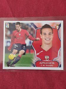 Cesar Azpilicueta Osasuna Chelsea Liga Este 2008/09 2nd Rookie Sticker