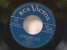 """TONY MARTIN """"YOU WERE MEANT FOR ME / IT WAS SO BEAUTIFUL"""" 45 NEAR MINT"""