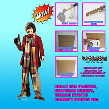 TOM BAKER FOURTH DOCTOR WHO LIFESIZE CARDBOARD CUTOUT STANDEE STANDUP SC406 4TH