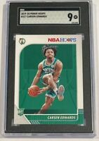 Carsen Edwards Rookie Card Boston Celtics 2019-20 Panini Hoops #227  SGC 9 Mint