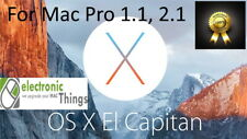 MacOS EL CAPITAN (10.11.6) for  Mac Pro 1,1 and 2.1,