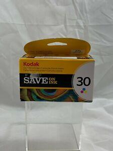 NEW Genuine Kodak 30 Color Tri-Color Inkjet Cartridge 1022854 Sealed NIB