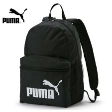 Puma Mens Backpack Phase Sports Training Gym Travel Black Backpacks