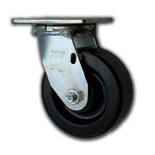 """5"""" x 2"""" Heavy Duty Swivel Caster w/ Phenolic Wheel 1000#"""