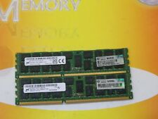 Micron 16GB 2X 8GB DDR3 PC3L-10600R 1333 MHz 240-pin ECC REG SERVER MEMORY LOT