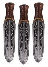 Epic Armoury 3x Wurfmesser Assassin Unity Polsterwaffe Messer LARP 14cm
