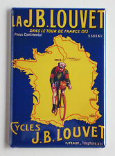 Tour de France 1913 FRIDGE MAGNET (2.5 x 3.5 inches) cycling poster bicycle