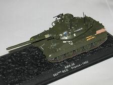 1/72 AMX-30 B French tank model die cast IXO & mag DeAgostini 61 PANZER SAMMLUNG