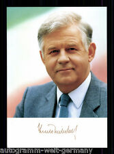 Kurt Biedenkopf TOP AK 80er Jahre Original Signiert +8726