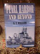 ESTATE 1ST ED SIGNED WWII BOMB PEARL HARBOR & BEYOND BOOK WILLIAMS EYEWITNESS