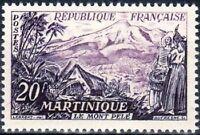 """FRANCE N°1041 """"MARTINIQUE, LE MONT PELE"""" NEUF xx TTB"""