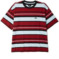 Obey Roll Call Tee SS T-Shirt Uomo 131080259 BRK Brick Multi