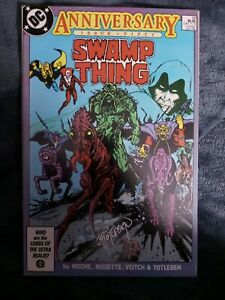 Swamp Thing #50 SIGNED BY JOHN TOTLEBEN 1st Justice League Dark. VF+ Alan Moore