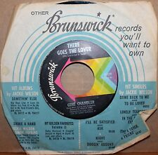 GENE CHANDLER *There Goes The Lover* TELL ME Northern Soul 45 on BRUNSWICK 55339