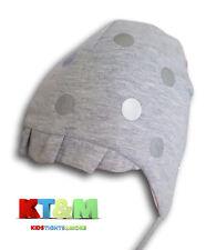 Nuevo Bebé Niña Hermosa Primavera/Otoño Gorra Gorro de algodón con puntos de las cuerdas 4-6 meses