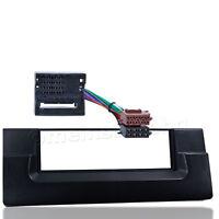 Radio Blende für BMW 5er E39 X5 E53 Autoradio Einbau Rahmen Adapter ISO MOST