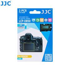 JJC LCD Guard Film Screen Display Hard Coating Protector for Nikon D850 Camera