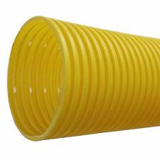 Drainagerohr DN100 gelb gelocht 10m - Entwässerung Drainageschlauch Drainrohr