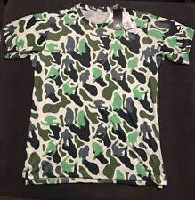 Adidas x NERD Mens Camo T Shirt Sz Large Climalite Training Pharrell Williams Gr
