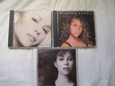 Lot of 3~Mariah Carey CDs~Studio-1990 Debut, Music Box-1993, Daydream-1995~LBDBR
