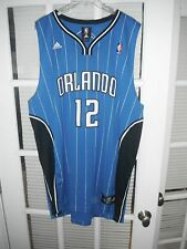 Adidas NBA Authentics Throwback Magic Dwight Howard Blue Jersey - Mens 2XL +2