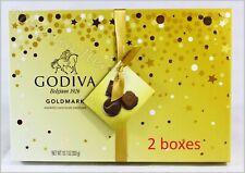 2x Godiva Belgium Assorted Chocolate Creations Gift Box 10.7 oz Free Shipping