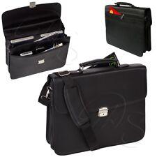 Aktentasche Laptopfach abschließbar Griff Schlüssel Business Schulter Laptop Bag