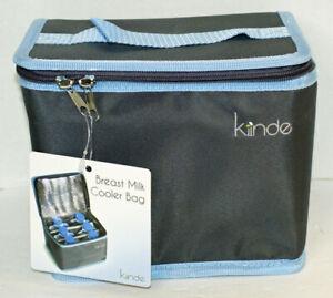 KIINDE Breast Milk Storage Cooler Bag for Breastfeeding Moms w. 2 Cooling Packs