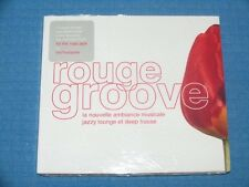 ROUGE GROOVE - LA NOUVELLE AMBIANCE MUSICALE: JAZZY LOUNGE ET.. CD DIGIPACK NEW