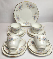 More details for duchess coppice cup and saucer plates trios sandwich plate bone china 315 englan