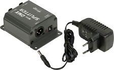 JB Systems Mini DMX-Splitter Signal Verstärker für Lichteffekte mit Netzteil NEU
