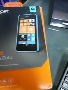 Nokia Lumia 635 - 8GB - Cyan (Boost Mobile) Prepaid Smartphone