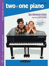 Warner Brothers Videos 0142 Two at One Piano/Book 2 (Frances Clark Library)