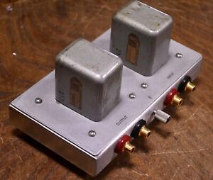 40s years PEERLESS (Altec) No 4629 MC step up SUT / input (CD) transformer