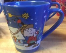 2016 Zaks Designs A Charlie Brown Christmas Blue Coffee Cup Mug