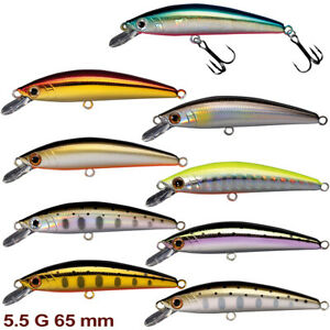 Smith Troutin Wavy 65S 5.5 g, 65 mm various colors trout sinking minnow