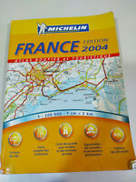 Guide Michelin France Edition 2004 Mapas Libro Tapa Blanda Francais