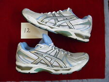 Asics Gel Kayano XIII 13 white blue yellow gold size 10.5 mens 12 womens VNDS