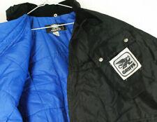 NWT Vintage Griffs Motorcycle Touring Jacket Black Insulated Belt Mens L Enduro