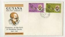 1969 GUYANA - MAHATMA GANDHI CENTENARY FDC FROM COLLECTION E23