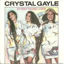CRYSTAL GAYLE - EVERYTHING I OWN - ELEKTRA 1982 - COUNTRY, POP. OLD REGGAE COVER