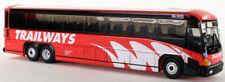 Mci D4505 Trailways Burlington 1:87/Ho Scale Iconic Replicas Diecast metal New!