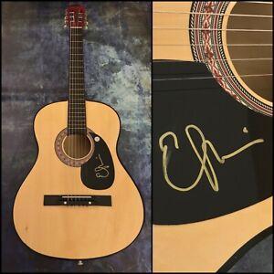 GFA Two More Bottles of Wine EMMYLOU HARRIS Signed Acoustic Guitar E2 COA