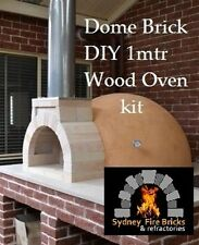 Pizza oven Brick Dome 1 metre outdoor woodfired wood fire DIY kit + instructions