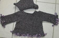 Mädchen-Pullover aus Wollmischung